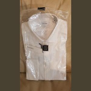Calvin Klein, long sleeve collar shirt